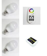 Mi.Light 2.4G RGBW Warm LED Bulb E27 6W 9W Lamp 4Zone RF Touch Remote + WiFi