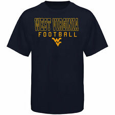 West Virginia Mountaineers Frame Football T-Shirt - Navy Blue