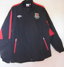 UMBRO Wales / Welsh Football Training Shower Jacket BOYS Size 152 / 158 CM