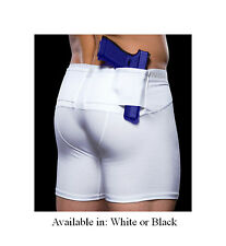 UnderTech Concealment Undercover White Black Holster Underwear Boxer Shorts
