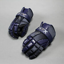 NEW STX Lacrosse Gloves K18 Kyle Harrison Lax NAVY Retail $99.99