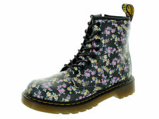 NIB  DR MARTENS Delaney Juniors Print Lace Boot PREMIUM SOFT LEATHER CHOOSE SIZE