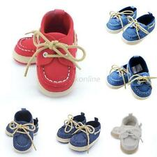 Boys Girls Baby Soft Sole Crib Shoes Infant Toddler Sneaker Newborn 0-18Month