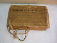 1916 Rudolph Wurlitzer Co. Antique Shipping Box Lid Advertising Piece  Lid only