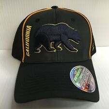 Cal Berkeley Bears Cap Zephyr Black Punisher Stretch Fit Fitted Hat