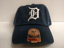 Detroit Tigers Franchise '47 Brand Fitted Cap Navy Unstructured Hat
