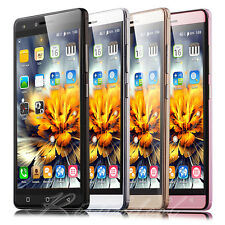 """5.0"""" Unlocked Quad Core 2 SIM QHD Smartphone Android 6.0 GSM/GPS 3G Cell Phone"""