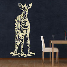 Zebra Wall Decal Sticker Mural Vinyl Decor Wall Art