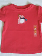 Gymboree Blooming Nautical Top 12 18 mo 2T 3T New Pink Flower Bird Shirt Girls