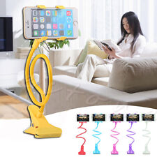 Universal Lazy Bed Desktop Car Stand Mount Holder 360°Stand Clip for Cell Phone