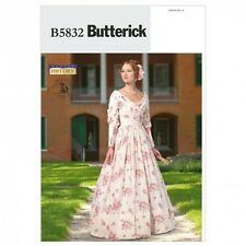 Butterick Ladies Sewing Pattern 5832 Historical Costume Dress (Butterick-5832-M)