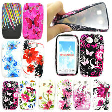 Colorful Pattern TPU Soft Case Rubber Phone Cover For Blackberry Torch 9850 9860