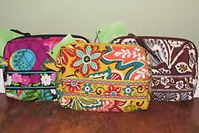 Vera Bradley VA VA BLOOM, PROVENCAL, or SLATE BLOOMS Travel SMALL COSMETIC - NWT