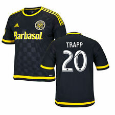 Youth adidas Wil Trapp Black Columbus Crew SC 2016 Replica Crew SC Black Jersey