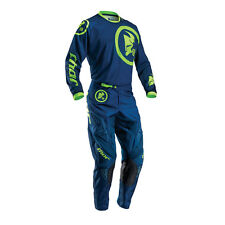 THOR Motocross trousers + Jersey 2016 Children's - Phase Gasket - navy-lime