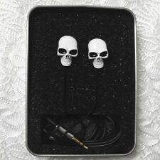 HOT Skull Candy Supreme Sound Metal In-Ear Earphone Bass Headset Halloween Cool