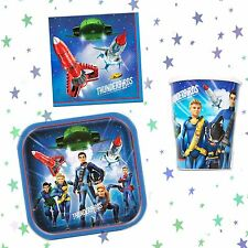 THUNDERBIRDS ARE GO FAB TV PARTY PACK SET PARTYWARE TABLEWARE DECORATIONS