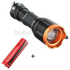 2000LM XM-L T6 LED  FlashLight Lamp Torch+18650+Mount+Charger