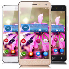 "5.0"" Unlocked 3G GSM AT&T T-mobile Quad Core Android 5.1 Cell Phone Smartphone"
