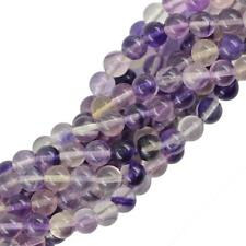 "Natural Round Smooth Jewelry Making Gemstone Loose Beads Strand 15"" 4mm/6mm/8mm"