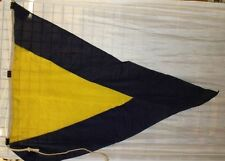 Nautical Naval Signal Flag 1st Substitute Pennant Choose Size, Fabric, Condition