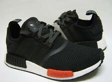 Adidas NMD Runner Boost NMD R1 Black White Red Mens Trainers AQ4498