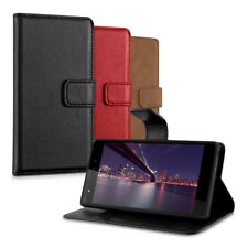 "kwmobile WALLET SYNTHETIC LEATHER CASE FOR WIKO PULP (5"") COVER BAG MOBILE"