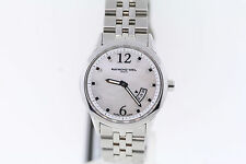 Ladies Raymond Weil 5670-ST-05985 Freelancer Mother-Of-Pearl Dial Watch