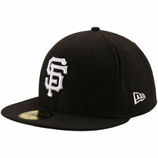 San Francisco Giants New Era League Basic 59FIFTY Fitted Hat - Black - MLB