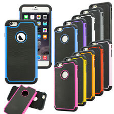 Hybrid Shockproof Hard Rugged Heavy Duty Cover Case For Apple iPhone 6 6S Plus