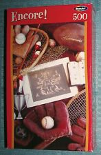 """RoseArt Memories Sports Fishing 500 Piece 10.75"""" x 18"""" Jigsaw Puzzle NEW SEALED"""