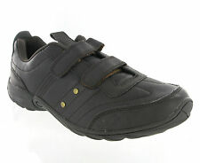 Mens Limited Edition Casual Smart Shoes Velcro Fastening Trainers Size UK 7-12