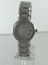 Women's Bulova 96R159 Fairlawn Stainless Steel Diamond-Accented MOP Dial Watch