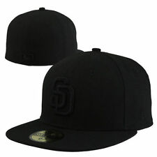 San Diego Padres New Era Tonal 59FIFTY Fitted Hat - Black - MLB