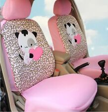 10 PCs Hello Kitty Universal Car Seat Covers Car Front Seat Covers