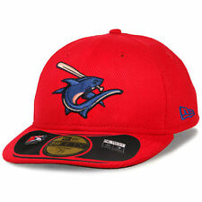 Men's New Era Red Clearwater Threshers Low Crown Diamond Era 59FIFTY Fitted Hat