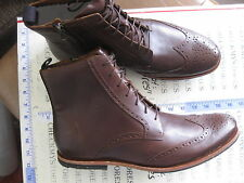 NIB $300  MEN'S TIMBERLAND BOOT COMPANY 4129R Wodehouse LH WINGTIP LEATHER BOOT