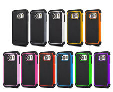 Hybrid Rugged Shockproof Rubber Case Cover For Samsung Galaxy S5 Mini/S7/S7 Edge