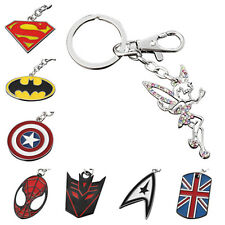 Buy 2 Get 1 Free Engravable Superhero Justice League The Avengers Key Chain Ring