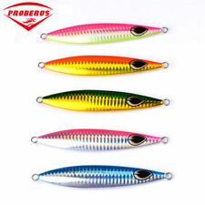 5pc Lead fish 60g-160g fishing lure 5 color fishing Bait Casting Lure Deep Bass