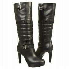 NIB $250  ROCKPORT Womens   Janae Quilted Tall Boot TALL BOOTS LEATHER ADIPRENE