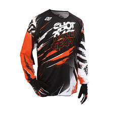 SHOT 2016 MEN'S MOTOCROSS / MTB JERSEY - DEVO CAPTURE - orange