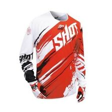 SHOT 2016 MEN'S MOTOCROSS / MTB JERSEY - CONTACT GENESIS - red