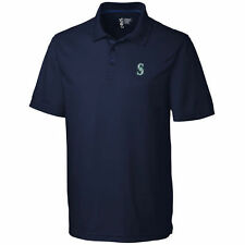 Seattle Mariners CBUK by Cutter & Buck DryTec Fairwood Polo - Navy - MLB