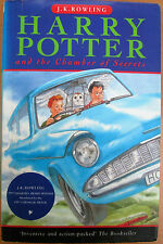 JK Rowling HARRY POTTER AND THE CHAMBER OF SECRETS dj/1st/7th/1998
