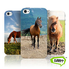Horse Case For Apple iPhone 4 Pony Farm Animal Protective Phone Cover