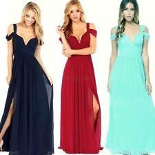 Sexy Women Formal Evening Party Cocktail Chiffon Maxi Bridesmaid Long Prom Dress
