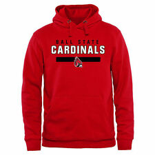 Ball State Cardinals Team Strong Pullover Hoodie - Red - College