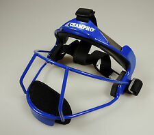 NEW Champro Sports The Grill Softball Fielders Mask Royal Blue (Retails $39.99)