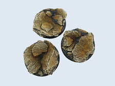 Micro Art Studios Shale Bases, 50mm Round (2) B00231